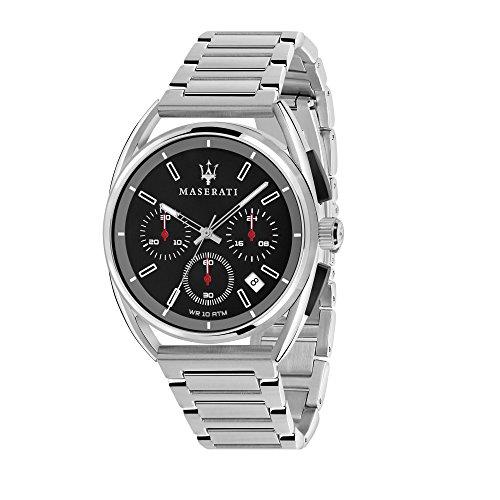 MASERATI Orologio Cronografo Quarzo Uomo con Cinturino in Acciaio Inox R8873632003