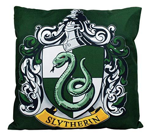 Se556th - Federa per Cuscino, Motivo: Serpeverde di Hogwarts