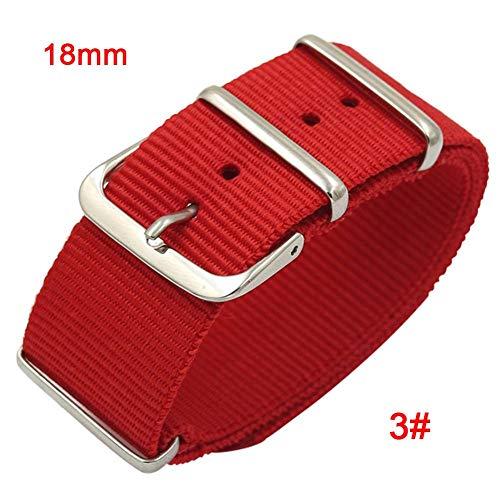 18mm 20mm 22mm resistente tessuto nylon Watch Band Army militare sport nato in nylon balistico...