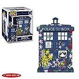 Funko- Doctor Who: Tardis-Clara Memorial Figurina, Multicolore, 9 cm, 33284