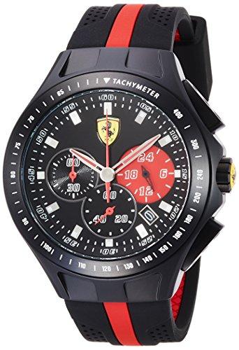 Scuderia Ferrari Cronografo Quarzo Orologio da Polso 0830023