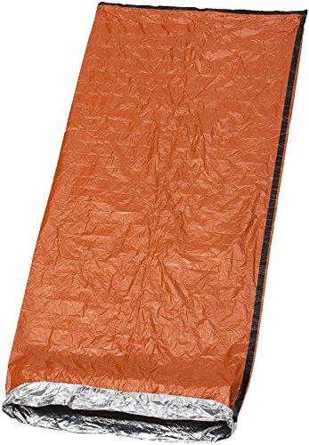 Premium Notfall Biwak-Sack - Survival Schlafsack, Kälteschutz Rettungsdecke, Bushcraft - Thermal-Isolierung Reißfest Polyethylen - Hohe Sichtbarkeit, Beweglich, Wetterfest| Camping Freien Wandern