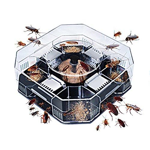 Bestozon, 1trappola grande riutilizzabile per scarafaggi, non inquinante.