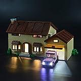 LIGHTAILING Set di Luci per (La Casa dei Simpsons) Modello da Costruire - Kit Luce LED Compatibile con Lego 71006 (Non Incluso nel Modello)