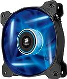 Corsair SP120 LED PC-Gehäuselüfter (120mm, Leise, Hoher Luftdurchsatz, blau LED, Dual Pack)