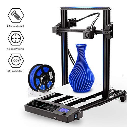 SUNLU 3D Printer with Printing Accessories,Resume Print Design&Upgrade 3D Printer Extruder Printing...
