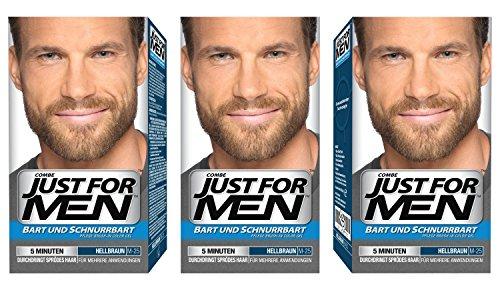 Just For Men Brush in color gel Formula Barba e Baffi