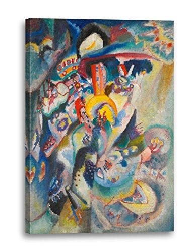Wassily Kandinsky - Mosca II (1916), 60x40 cm, Stampa su tela incorniciata su telaio in legno...