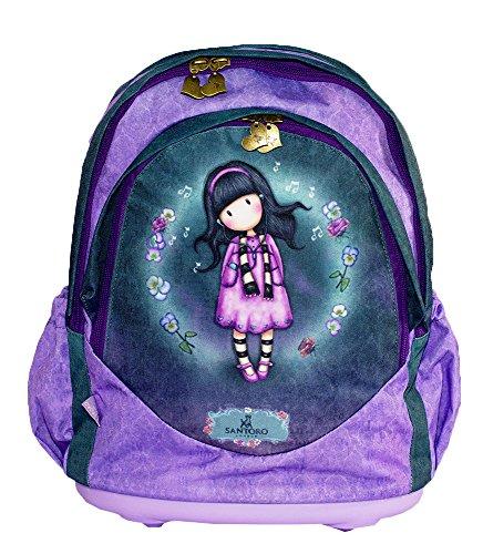 369e7e144 SANTORO GORJUSS Mochila escolar, violeta (morado) - G4183561 - MUNDO ...