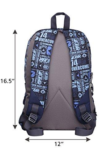 F Gear Burner P11 26 Ltrs Blue Casual Backpack (2437) 4