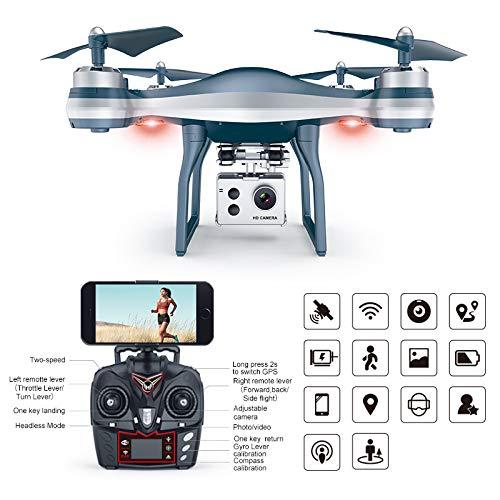 JERFER 2.4 GHz 4Ch Rc Quadcopter WiFi FPV 720P Grandangolare HD Camera Drone Altitudine Hold