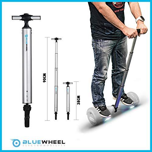 Manubrio H60 per Skateboard Elettrico Bluewheel, Manubrio Scooter da 38 Fino a 90cm in Alluminio...