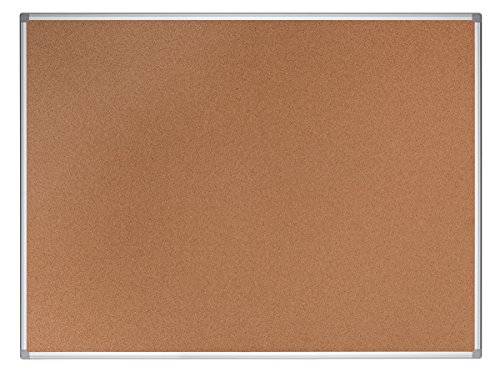 Bi-Office umweltfreundliche lavagna in sughero con cornice in alluminio, Earth di IT' 150x100 cm