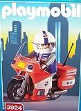 Paramedic On Motorcycle