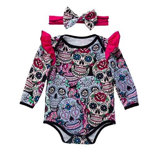 Ropa-Bebe-Modaworld-Monos-de-Calavera-de-Dibujos-Animados-de-Halloween-de-Manga-Larga-para-bebs-recin-Nacidos-Mameluco-Camisas-Ropa-bebs-0-18-Mes