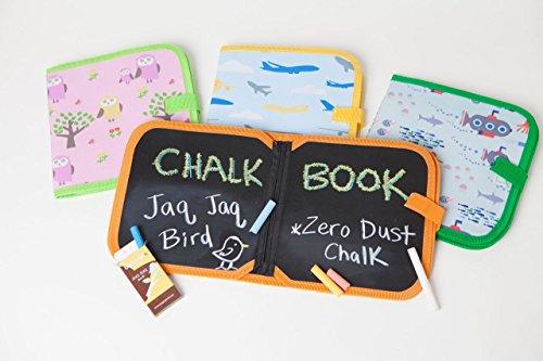 Jaq Jaq Bird, libro da colorare per bambini, per dipingere e disegnare a casa e in viaggio, lavabile...