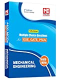 Mechanical Engineering - 4400 MCQs for ESE, GATE & PSUs (Fully Solved)