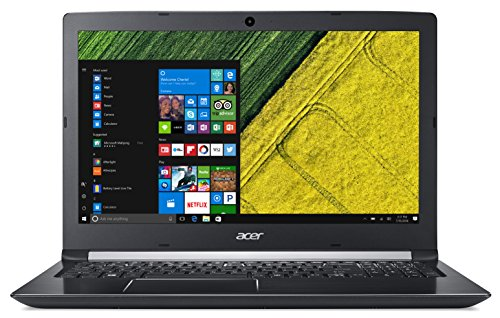 "Acer Aspire 5 A515-51G - Ordenador portátil 15.6"" HD (Intel Core i5-7200U, 8 GB de RAM, 256 GB SSD, Nvidia GeForce MX130 de 2 GB, Windows 10 Home) Rojo - Teclado QWERTY Español"