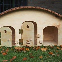 katzeninfo24.de Blitzen Motel WP outdoor (wasserdicht) für Katzen, Temperaturregler, 3-4 Plätze fürs Freie geeignet