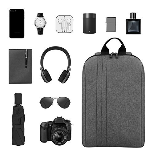 33b419def94e REYLEO Backpack Slim Business Work Laptop Backpack Waterproof School Bag ...