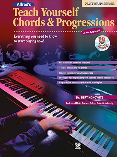 Alfred's Teach Yourself Chords & Progressions at the Keyboard ...