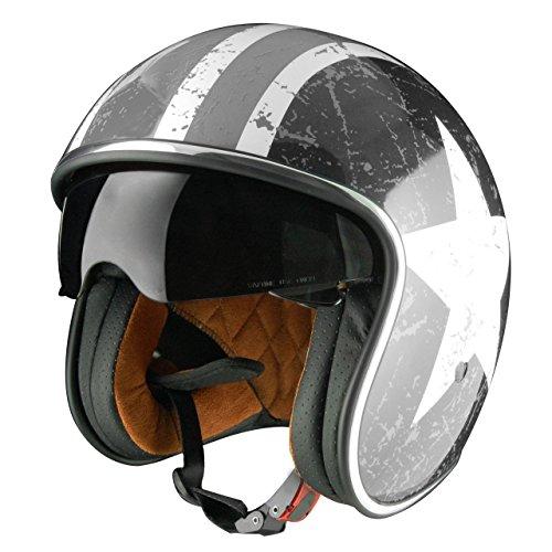 Origine helmets 202537028101802Sprint Rebel Star Open Face Helme