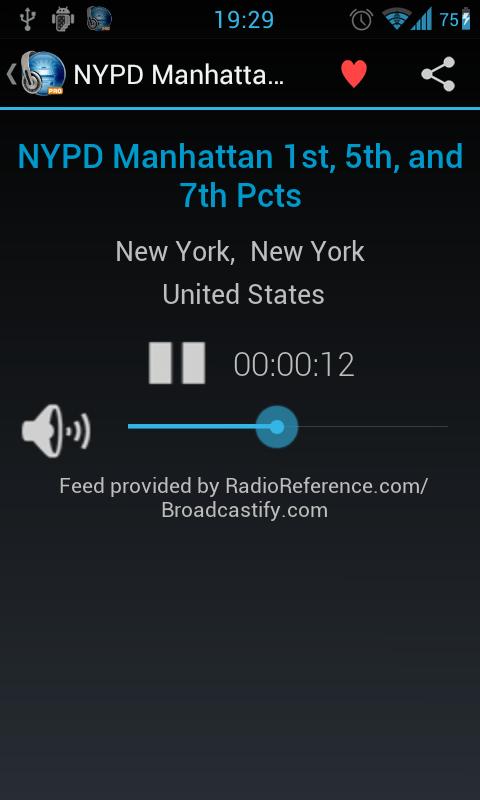 MyScanner Pro - Police Scanner Radio Screenshot