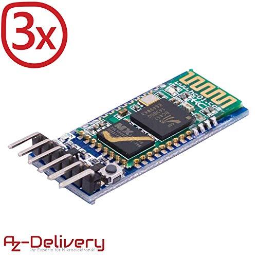 Il modulo Bluetooth HC-05 HC-06 di Az Delivery è uno dei moduli più popolari che si può utilizzare per delle  comunicazioni RF. È un modulo facile da implementare nei progetti Arduino, ovunque necessitiate di una connessione tra più strument...