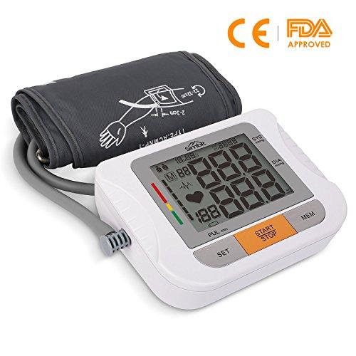 SIMBR Misuratore di Pressione Elettronico Arteriosa Digitale Automatico da Braccio con La Funzione...