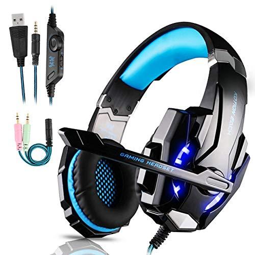 Auriculares Gaming PS4,Cascos Gaming, Auriculares Cascos Gaming de Mac...