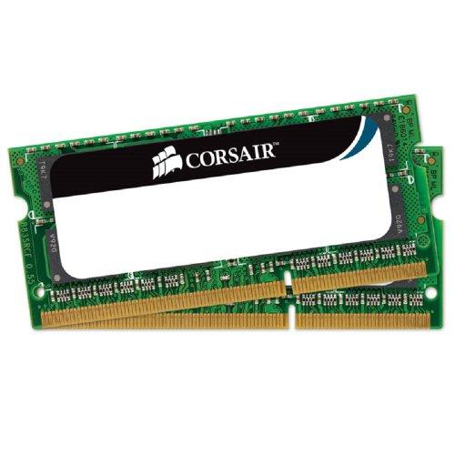 Corsair Value Select - Módulo de memoria SODIMM de 8 GB (2 x 4 GB, DDR3, 1333 MHz, CL9) (CMSO8GX3M2A1333C9)