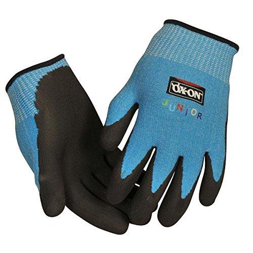 Ox-On Junior, guanti da lavoro guanti da giardinaggio, per bambini da 8 a 10 anni