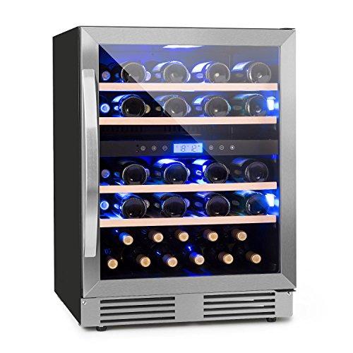 Klarstein Vinovilla Duo 43 • Frigo per vino • Frigorifero per bevande • Volume: 129 litri •...