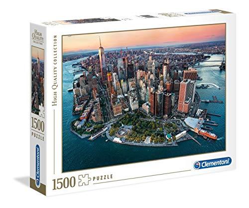 Clementoni Collection Puzzle-New York-1500 Pezzi, Multicolore, 31810