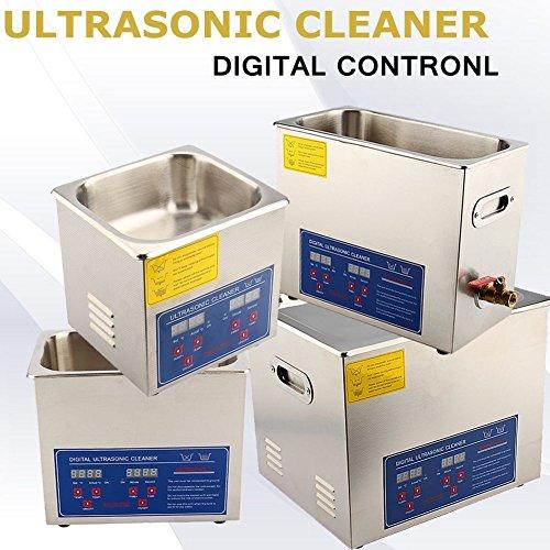 Pulitore industriale ad ultrasonico pulizia in acciaio inox con timer digitale display dispositivo...