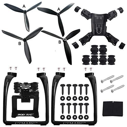 Etbotu Accessori Drone,Hubsan H501S X4 Air H501A Gambe Carrello di atterraggio Supporto per Camera...