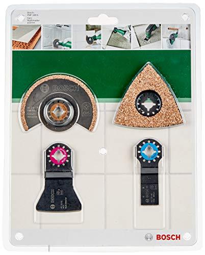 Bosch Home and Garden 26092569 Utensili Multifunzione PMF 190E, 190 W, Nero, Verde, Rosso