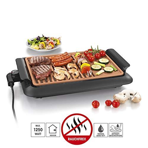 GOURMETmaxx 07760 - Griglia elettrica da tavolo, in policarbonato