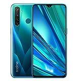 realme 5 Pro Smartphone téléphone Portable, 4 Go RAM 128 Go ROM 6.3 '' Snapdragon 712AIE Octa Core 16MP Front 48MP Quad caméra 4035mAh, Version Européenne (Vert)