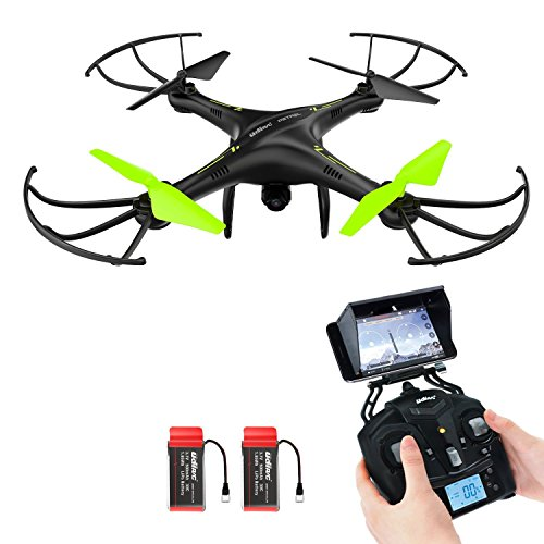 Drone-avec-camra-HD-Potensic-U42W-4Ghz-RC-Drone-RTF-Hauteur-fixe-pour-Photographie-arienne-UFO-avec-03MP-camra-WiFi-HD-Camera
