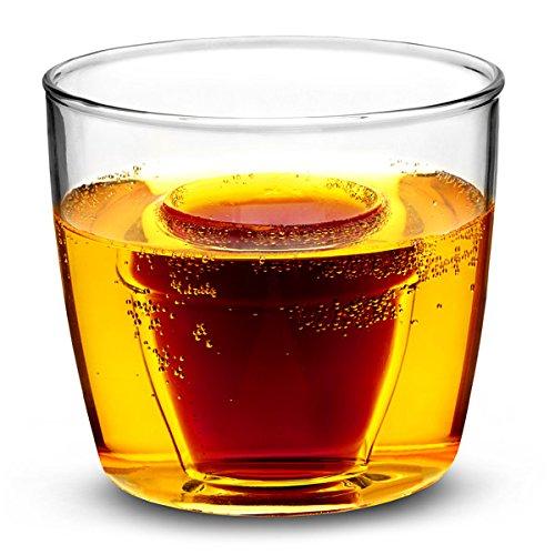 Bicchieri da shot in vetro, capacità: 175 ml – Set di 3 – Bicchieri in vetro per servire shot, come le 'Jagerbombs'.