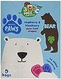 Bear Fruit Paws Arctic Rasperberry & Blueberry Multipack 5 x 20g