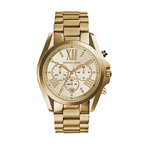 Michael Kors Orologio Cronografo Quarzo Donna con Cinturino in Acciaio Inox MK5605