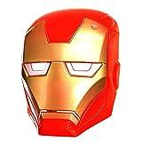 Los Vengadores Iron Man máscara de Luz Hasta Los Ojos superhéroes de Marvel accesorio para disfraz