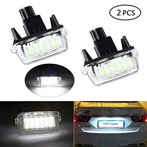 LED Luci Targa,UMIWE Numero di Targa Luce Targa Lampada Illuminazione Automatica per...
