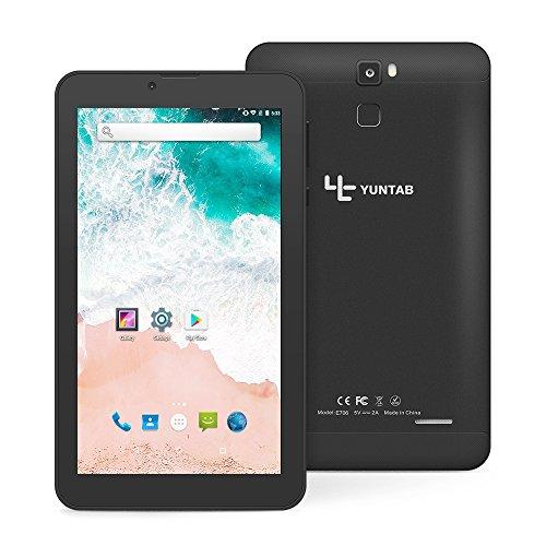 Tablet Yuntab E706 3G con retro in lega di metallo IPS 7 pollici Google Android 7.0 Quad Core...