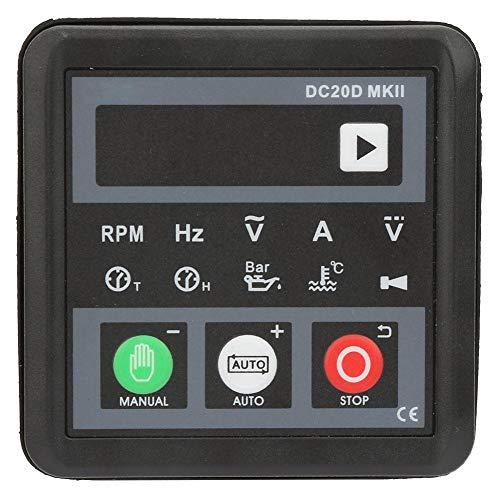 Panel De Control del Módulo del Controlador del Generador Electrónico Zerone Dc20d Mkii para Motor Diesel O Generador