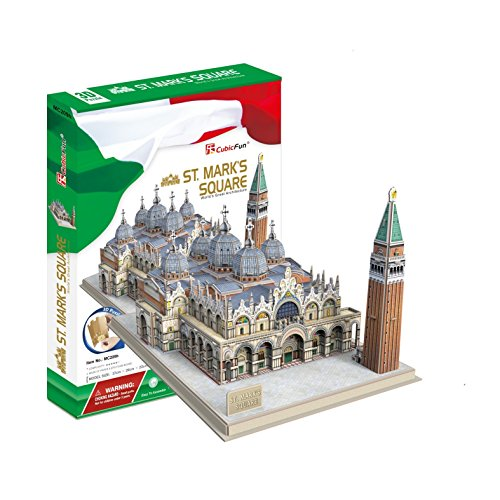 Cubic Fun Puzzle 3D modellino Souvenir, MC209h