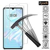 ANEWSIR [2 Pack] Cristal Templado Huawei P30 Pro, Protector de Pantalla Huawei P30 Pro, Vidrio Protector de Pantalla [3D Cobertura Completa] [9H Dureza][Alta Definición]