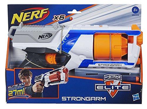 Nerf - Strongarm Arma con 6 Dardi